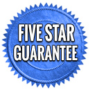 Five Star Guarentee